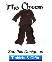 tuxedo picture groom gifts