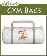 bride gym bags