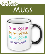 bride mugs and cups
