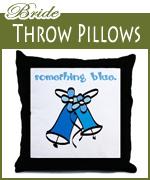 bride pillows