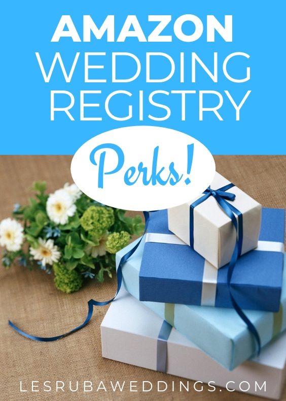 Amazon wedding registry offers lots of perks