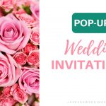 pop up 3d wedding invitations